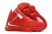 Wholesale Cheap Nike Lebron James 17 Air Cushion Shoes Red White