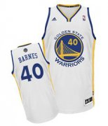 Wholesale Cheap Golden State Warriors #40 Harrison Barnes White Swingman Jersey