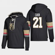Wholesale Cheap Vegas Golden Knights #21 Cody Eakin Black adidas Lace-Up Pullover Hoodie