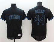 Wholesale Cheap Cubs #44 Anthony Rizzo Black Fashion Flexbase Authentic Collection Stitched MLB Jersey