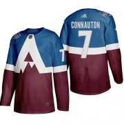 Wholesale Cheap Adidas Colorado Avalanche #7 Kevin Connauton Men's 2020 Stadium Series Burgundy Stitched NHL Jersey