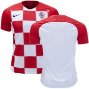 Wholesale Cheap Croatia Blank Home Kid Soccer Country Jersey