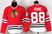 Wholesale Cheap Blackhawks #88 Patrick Kane Red Stitched Youth NHL Jersey