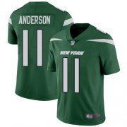 Wholesale Cheap Nike Jets #11 Robby Anderson Green Team Color Men's Stitched NFL Vapor Untouchable Limited Jersey