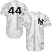 Wholesale Cheap Yankees #44 Reggie Jackson White Strip Flexbase Authentic Collection Stitched MLB Jersey