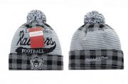 Wholesale Cheap Oakland Raiders Beanies YD003