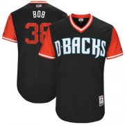 "Wholesale Cheap Diamondbacks #38 Robbie Ray Black ""Bob"" Players Weekend Authentic Stitched MLB Jersey"