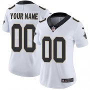 Wholesale Cheap Nike New Orleans Saints Customized White Stitched Vapor Untouchable Limited Women's NFL Jersey