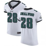Wholesale Cheap Nike Eagles #28 Wendell Smallwood White Men's Stitched NFL Vapor Untouchable Elite Jersey