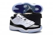 Wholesale Cheap Air Jordan 11 Low Retro Shoes White/black