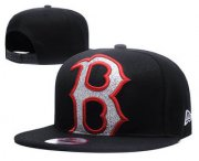 Wholesale Cheap MLB Boston Red Sox Snapback Ajustable Cap Hat YD