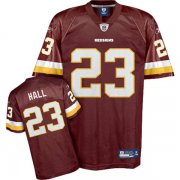 Wholesale Cheap Redskins #23 DeAngelo Hall Red Stitched NFL Jersey