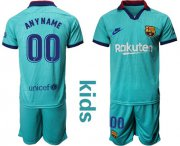 Wholesale Cheap Barcelona Personalized Third Kid Soccer Club Jersey