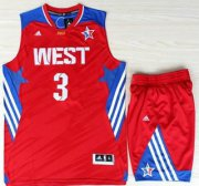 Wholesale Cheap 2013 All-Star Western Conference Los Angeles Clippers 3 Chris Paul Red Revolution 30 Swingman Suits
