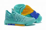 Wholesale Cheap Nike KD 10 Shoes Aqua
