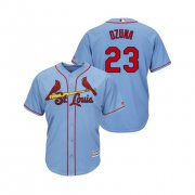 Wholesale Cheap Cardinals #23 Marcell Ozuna Horizon Blue Alternate 2019 Cool Base Stitched MLB Jersey