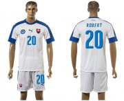 Wholesale Cheap Slovakia #20 Robert Home Soccer Country Jersey