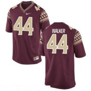Wholesale Cheap Men's Florida State Seminoles #44 DeMarcus Walker Red Stitched College Football 2016 Nike NCAA Jersey