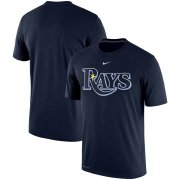 Wholesale Cheap Tampa Bay Rays Nike Batting Practice Logo Legend Performance T-Shirt Navy