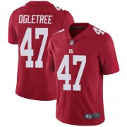 Wholesale Cheap Nike Giants #47 Alec Ogletree Red Alternate Men's Stitched NFL Vapor Untouchable Limited Jersey