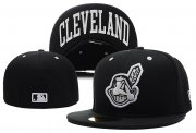 Wholesale Cheap Cleveland Indians fitted hats 03