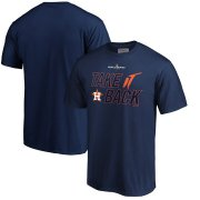 Wholesale Cheap Houston Astros Majestic 2019 World Series Bound Authentic Collection Dugout T-Shirt Navy