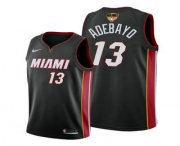 Wholesale Cheap Men's Miami Heat #13 Bam Adebayo 2020 Black Finals Bound Association Edition Stitched NBA Jersey