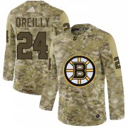 Wholesale Cheap Adidas Bruins #24 Terry O'Reilly Camo Authentic Stitched NHL Jersey