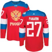 Wholesale Cheap Team Russia #27 Artemi Panarin Red 2016 World Cup Stitched NHL Jersey