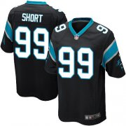 Wholesale Cheap Nike Panthers #99 Kawann Short Black Team Color Youth Stitched NFL Elite Jersey