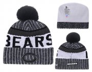 Wholesale Cheap NFL Chicago Bears Logo Stitched Knit Beanies 008