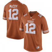 Wholesale Cheap Men's Texas Longhorns 12 Colt McCoy Orange Nike College Jersey
