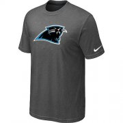 Wholesale Cheap Carolina Panthers Sideline Legend Authentic Logo Dri-FIT Nike NFL T-Shirt Crow Grey