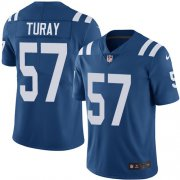 Wholesale Cheap Nike Colts #57 Kemoko Turay Royal Blue Team Color Men's Stitched NFL Vapor Untouchable Limited Jersey