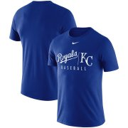Wholesale Cheap Kansas City Royals Nike MLB Practice T-Shirt Royal