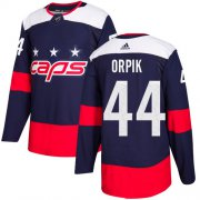 Wholesale Cheap Adidas Capitals #44 Brooks Orpik Navy Authentic 2018 Stadium Series Stitched NHL Jersey