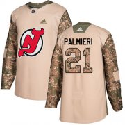 Wholesale Cheap Adidas Devils #21 Kyle Palmieri Camo Authentic 2017 Veterans Day Stitched Youth NHL Jersey