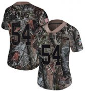 Wholesale Cheap Nike Titans #54 Rashaan Evans Camo Women's Stitched NFL Limited Rush Realtree Jersey