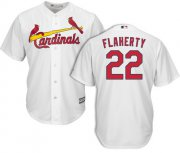 Wholesale Cheap Cardinals #22 Jack Flaherty White New Cool Base Stitched MLB Jersey