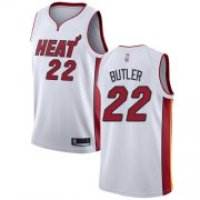 Wholesale Cheap Heat #22 Jimmy Butler White Basketball Swingman Association Edition Jersey
