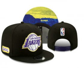 Wholesale Cheap Los Angeles Lakers Snapback Ajustable Cap Hat YD 3