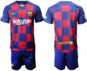 Wholesale Cheap Barcelona Blank Home Soccer Club Jersey