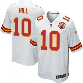Wholesale Cheap Nike Chiefs #10 Tyreek Hill White Youth Stitched NFL Elite Jersey