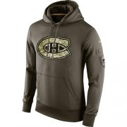 Wholesale Cheap Men's Montreal Canadiens Nike Salute To Service NHL Hoodie