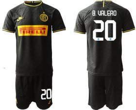 Wholesale Cheap Inter Milan #20 B.Valero Third Soccer Club Jersey