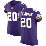 Wholesale Cheap Nike Vikings #20 Jeff Gladney Purple Team Color Men's Stitched NFL Vapor Untouchable Elite Jersey