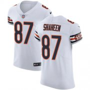 Wholesale Cheap Nike Bears #87 Adam Shaheen White Men's Stitched NFL Vapor Untouchable Elite Jersey