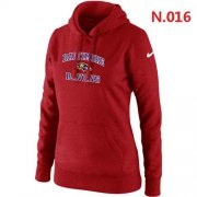 Wholesale Cheap Nike Baltimore Ravens Heart & Soul Pullover Hoodie Red
