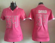Wholesale Cheap Nike Buccaneers #54 Lavonte David Pink Women's Stitched NFL Elite Bubble Gum Jersey