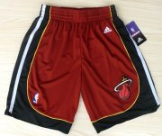 Wholesale Cheap Miami Heat Red Short